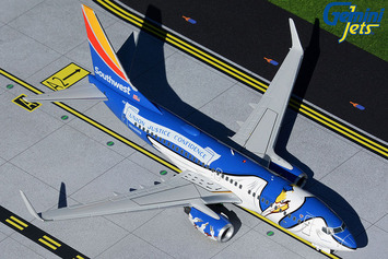 """Gemini200 Southwest Airlines Boeing 737-700 """"Louisiana One"""" picture"""