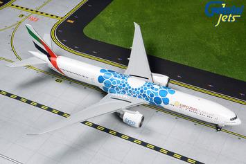 """Gemini200 Emirates Boeing 777-300ER """"Blue Expo 2020"""" picture"""