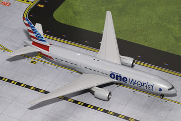 "Gemini200 American Airlines 777-200ER ""oneworld"" picture"