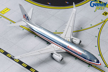 """GeminiJets 1:400 American Airlines Boeing 737-800 """"Polished Retro"""" picture"""