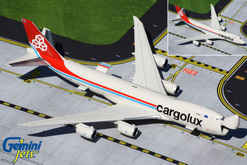 GeminiJets 1:400 Cargolux Boeing 747-8F (Interactive Series) picture