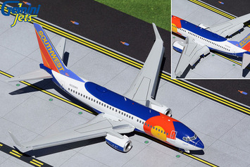 """Gemini200 Southwest Airlines Boeing 737-700 """"Colorado One"""" (Flaps/Slats Extended) picture"""