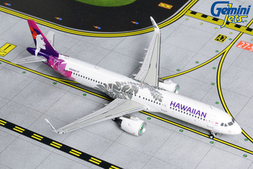 GeminiJets 1:400 Hawaiian Airlines Airbus A321neo picture