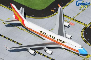 "GeminiJets 1:400 Kalitta Air Boeing 747-400BCF ""Mask"" picture"