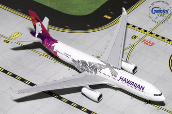 GeminiJets 1:400 Hawaiian Airlines Airbus A330-200 picture