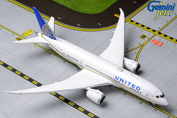GeminiJets 1:400 United Airlines Boeing 787-8 Dreamliner picture
