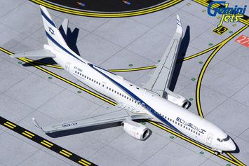 "GeminiJets 1:400 El Al Boeing 737-900ER ""Peace"" picture"