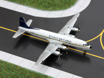 GeminiJets 1:400 Everts Air Cargo DC-6 picture