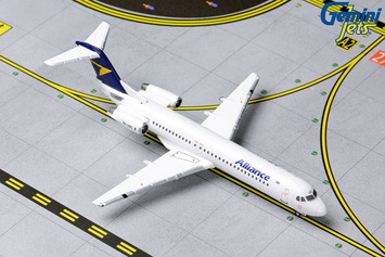 GeminiJets 1:400 Alliance Airlines Fokker 100 picture
