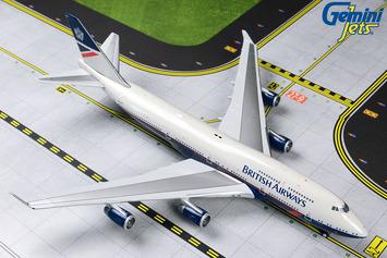 "GeminiJets 1:400 British Airways Boeing 747-400 ""Landor Retro"" picture"