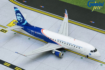 """Gemini200 Alaska Airlines Embraer 175 """"Honoring Those Who Serve"""" picture"""