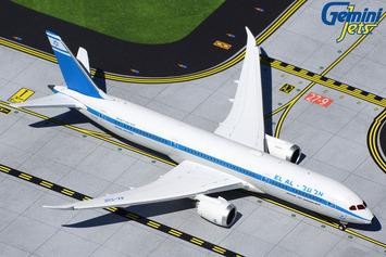 "GeminiJets 1:400 El Al Boeing 787-9 Dreamliner ""Retro"" picture"