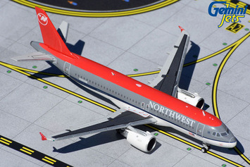 GeminiJets 1:400 Northwest Airlines Airbus A320-200 picture