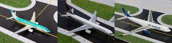 GeminiJets 1:400 St. Maarten Airpot Set 3-pack picture