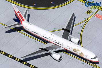 GeminiJets 1:400 TWA Boeing 757-200 picture
