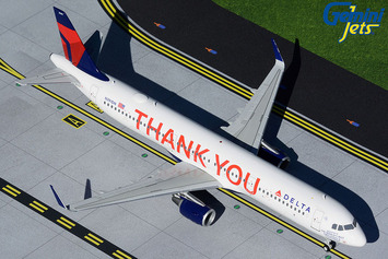 """Gemini200 Delta Air Lines Airbus A321 """"Thank You"""" picture"""
