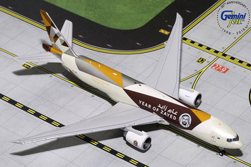 "GeminiJets 1:400 Etihad Cargo Boeing 777F ""Year of Zayed"" picture"