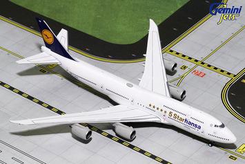"""GeminiJets 1:400 Lufthansa Boeing 747-8i """"5StarHansa"""" picture"""