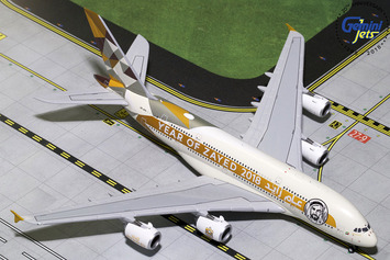 """GeminiJets 1:400 Etihad Airways Airbus A380-800 """"Year of Zayed"""" picture"""