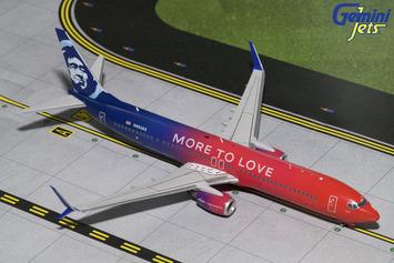 "Gemini200 Alaska Airlines 737-900 ""More to Love"" picture"