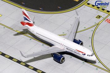 GeminiJets 1:400 British Airways Airbus A320neo picture