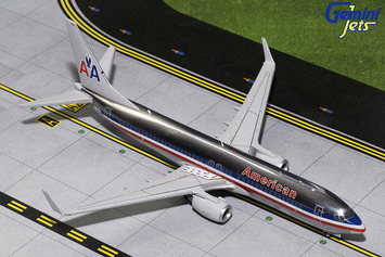 """Gemini200 American Airlines 737-800 """"Polished Retro"""" picture"""