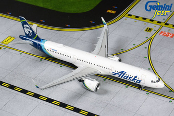 GeminiJets 1:400 Alaska Airlines Airbus A321neo picture