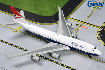 "GeminiJets 1:400 British Airways Boeing 747-400 ""Negus Retro"" picture"