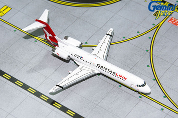 GeminiJets 1:400 QantasLink Fokker 100 picture