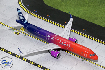 """Gemini200 Alaska Airlines Airbus A321neo """"More to Love"""" picture"""