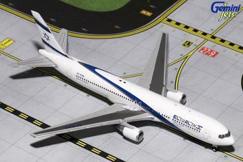GeminiJets 1:400 El Al Boeing 767-300ER picture