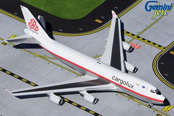 """GeminiJets 1:400 Cargolux Boeing 747-400F """"Retro"""" picture"""
