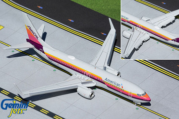 """Gemini200 American Airlines Boeing 737-800 """"AirCal Heritage"""" (Flaps/Slats Extended) picture"""