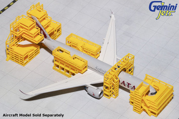 GeminiJets 1:400 Aircraft Maintenance Scaffolding picture