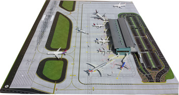 GeminiJets 1:400 Scale Airport Mat picture