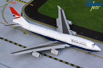"""Gemini200 British Airways Boeing 747-400 """"Negus Retro"""" (Flaps Down) picture"""