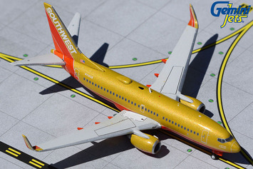 "GeminiJets 1:400 Southwest Airlines Boeing 737-700 ""Classic Retro"" picture"