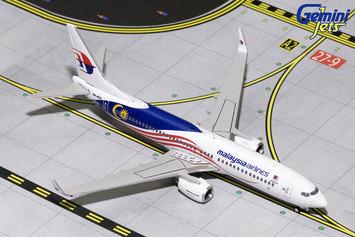 "GeminiJets 1:400 Malaysia Airlines 737-800 ""Negaraku"" picture"