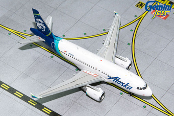 GeminiJets 1:400 Alaska Airlines Airbus A319 picture