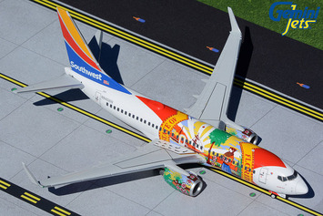 """Gemini200 Southwest Airlines Boeing 737-700 """"Florida One"""" picture"""