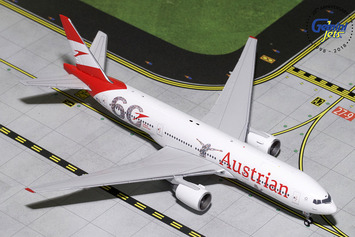 """GeminiJets 1:400 Austrian Airlines Boeing 777-200ER """"60th Anniversary"""" picture"""