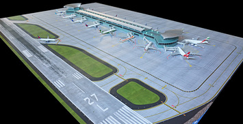 GeminiJets 1:400 Scale Deluxe Airport Mat Set picture