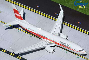 """Gemini200 American Airlines 737-800 """"TWA Heritage"""" N915NN (Flaps/Slats Extended) picture"""