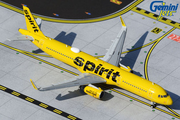 GeminiJets 1:400 Spirit Airlines Airbus A321 picture