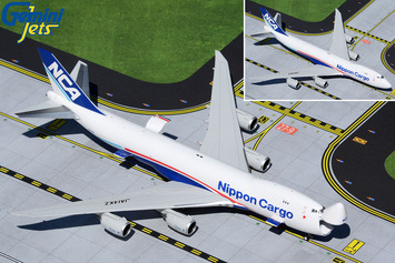 GeminiJets 1:400 Nippon Cargo Airlines 747-8F JA14KZ (Optional Doors Open/Closed Config) picture