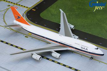 "Gemini200 South African Airways Boeing 747-400 ""Retro"" picture"