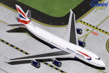 GeminiJets 1:400 British Airways 747-400 picture