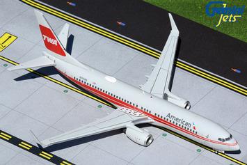 """Gemini200 American Airlines 737-800 """"TWA Heritage"""" N915NN picture"""
