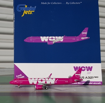 GeminiJets WOW air A321neo picture