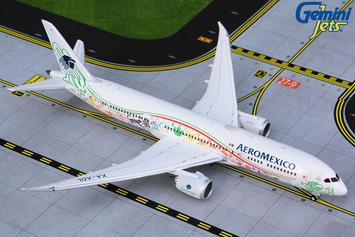 "GeminiJets 1:400 Aeromexico Boeing 787-9 ""Quetzalcoatl"" picture"